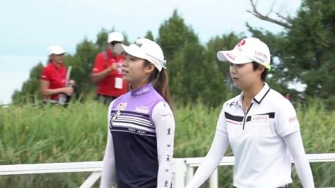 LPGA 메이저 에비앙 챔피언십 사흘째, 한국 선수 상위권 점령