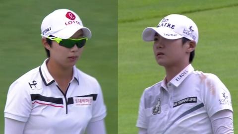김효주 선두·박성현 2위...에비앙에 몰아친 '코리안 열풍'