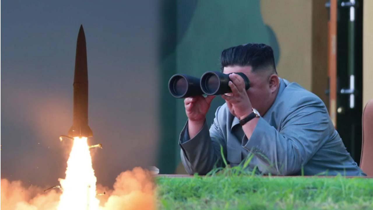 북, 엿새만에 또 탄도 미사일 발사