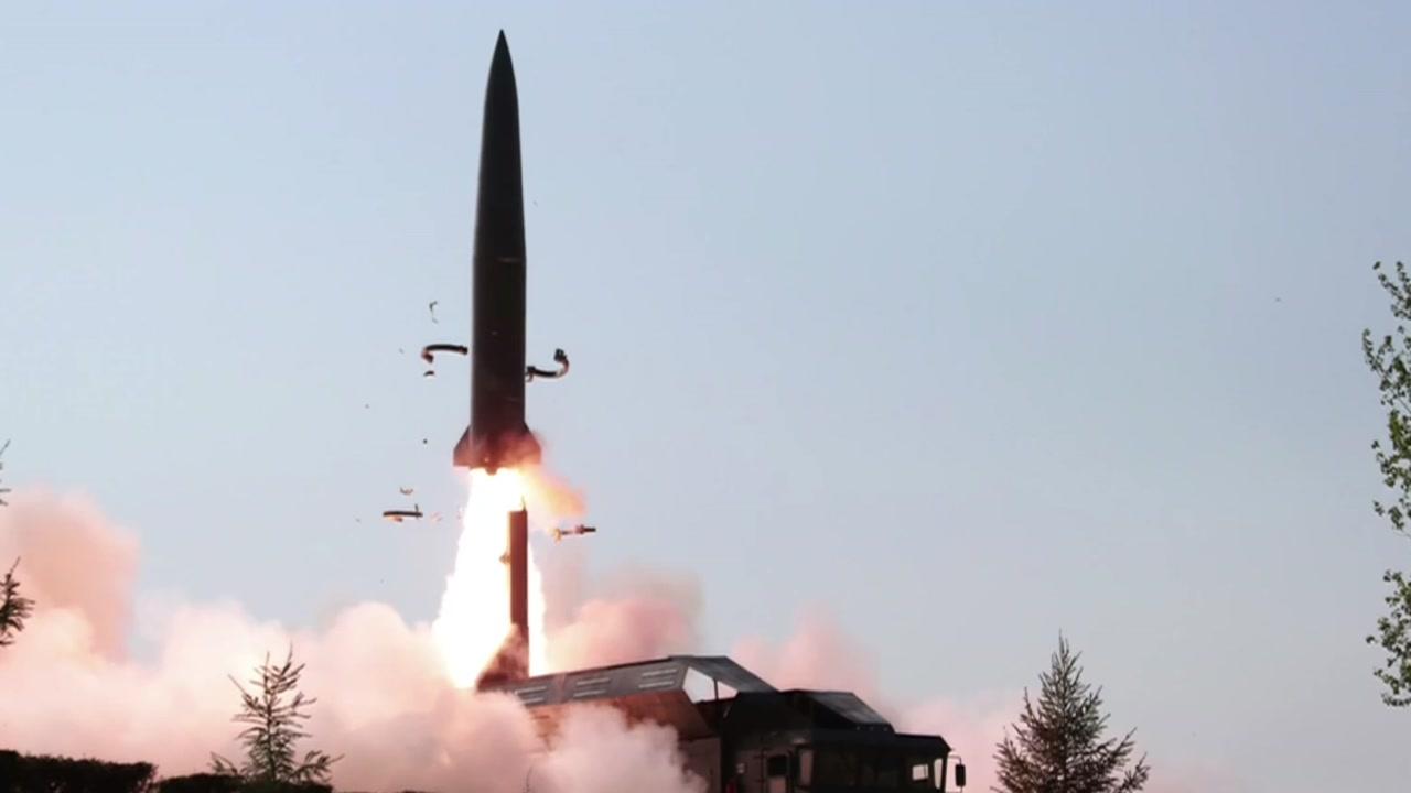 엿새만에 또 미사일 발사...북한 속내는?