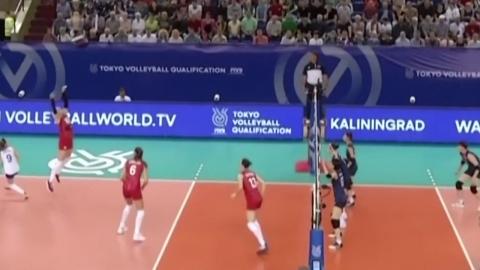 여자배구, 러시아에 역전패...올림픽 직행 티켓 놓쳐