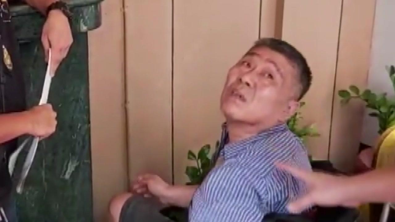 '병풍' 김대업 3년 만에 필리핀에서 송환
