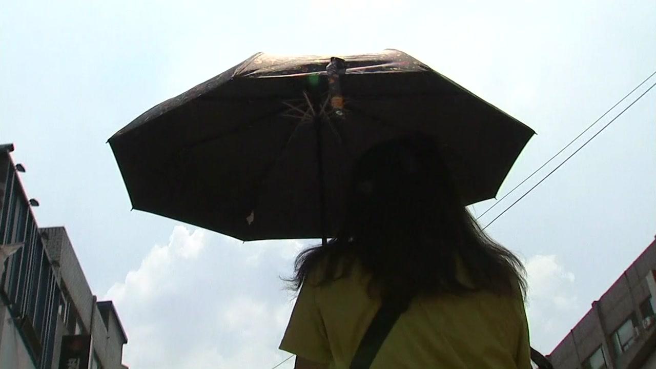 [날씨] 태풍 열기에 서울 올 최고, 36.8℃...내일 비 내리며 주춤
