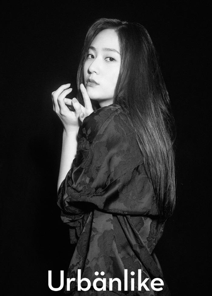크리스탈, '어반라이크' 화보 공개…냉미녀의 시크미