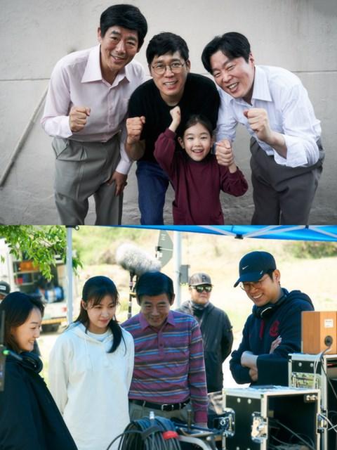 성동일X하지원 '담보' 크랭크업...극장가 웃음과 감동 담보하나