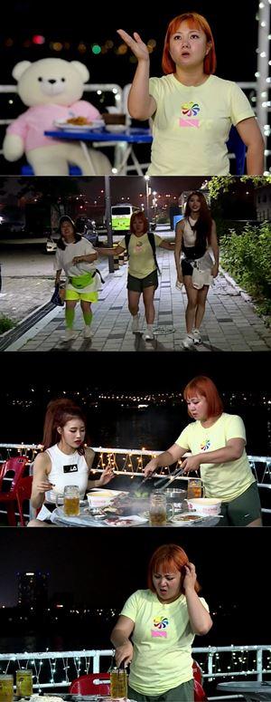 '나혼자산다' 박나래, 절정의 한강 식욕 파티(Ft. 홍현희·미주)