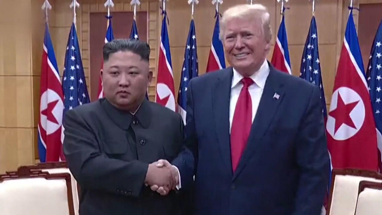 """트럼프 """"김정은, 한미훈련 종료되는 대로 협상 재개 희망"""""""