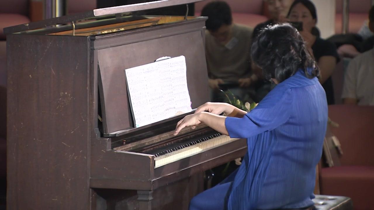 한국 원폭피해자 위로한 '피폭 피아노'