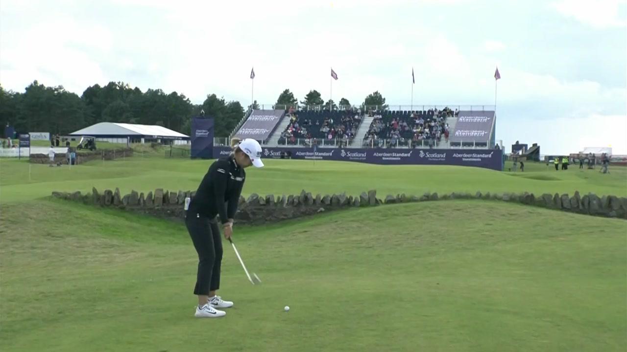 이정은·허미정, LPGA 스코틀랜드 오픈 3R 공동 2위