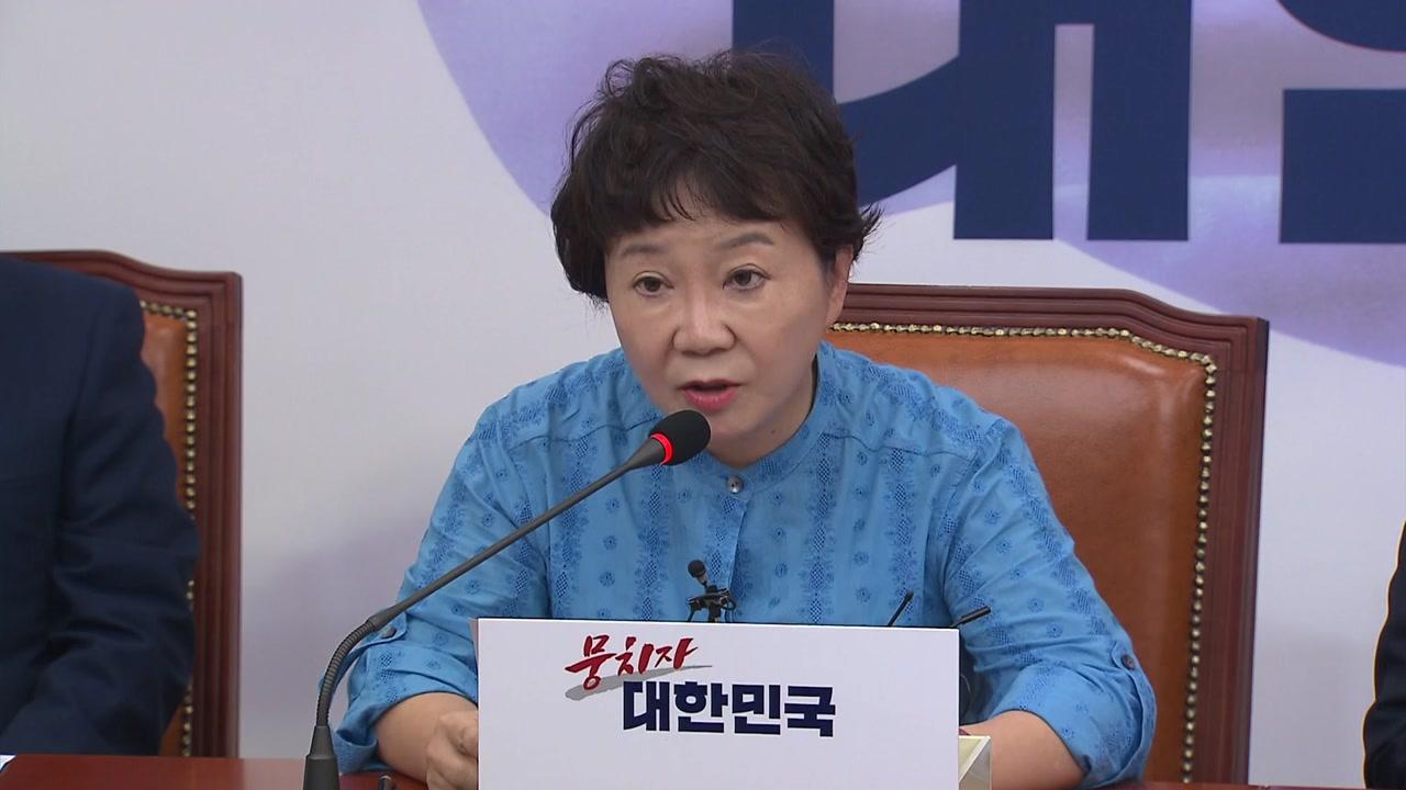 """""""한일 갈등이 정부 자작극?"""" 한국당 주장 논란"""