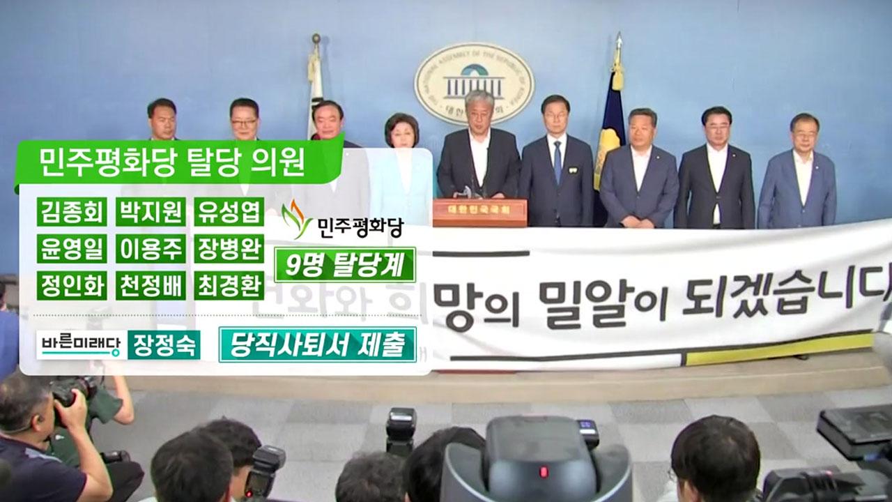 """두 동강 난 평화당...""""제3지대 신당"""" vs """"구태정치"""""""
