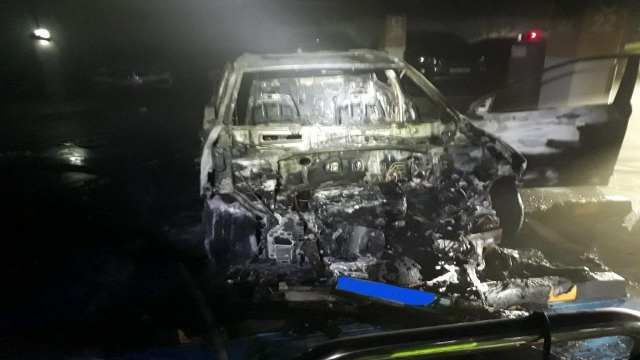 세종시에서 충전 중이던 전기차서 불