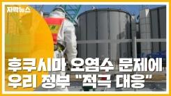 """[자막뉴스] 후쿠시마 오염수 방출 계획에 우리 정부 """"적극 대응"""""""