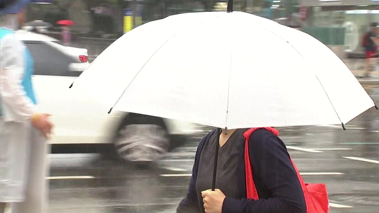 [날씨] 광복절, 태풍 '크로사' 영향 전국 비