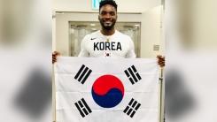 """'영주권 취득' 샘 오취리, 광복절 맞아 """"대한민국 만세"""""""