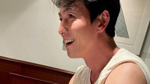 """이정재 """"정우성, 감자 캐다 익어""""...'삼시세끼' 인증샷 공개"""