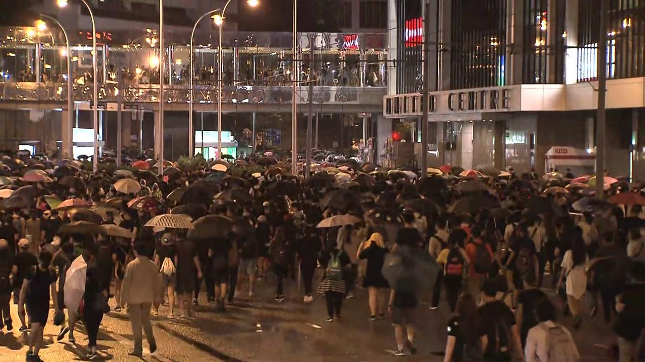 """""""폭도는 없고 폭정만 있다""""...홍콩 대규모 시위"""