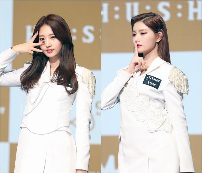 """에버글로우 시현 """"'프듀48' 쥬리·도아와 활동 겹쳐…감격"""""""