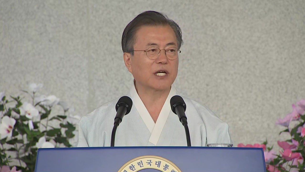 """초강수 배경은...""""광복절 경축사에도 日 무반응...국민 자존감 중요"""""""