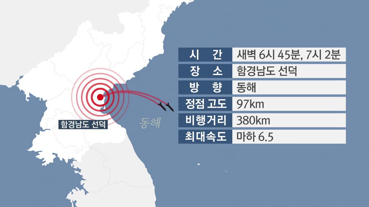 북한 또 미사일 발사...배경과 파장은?