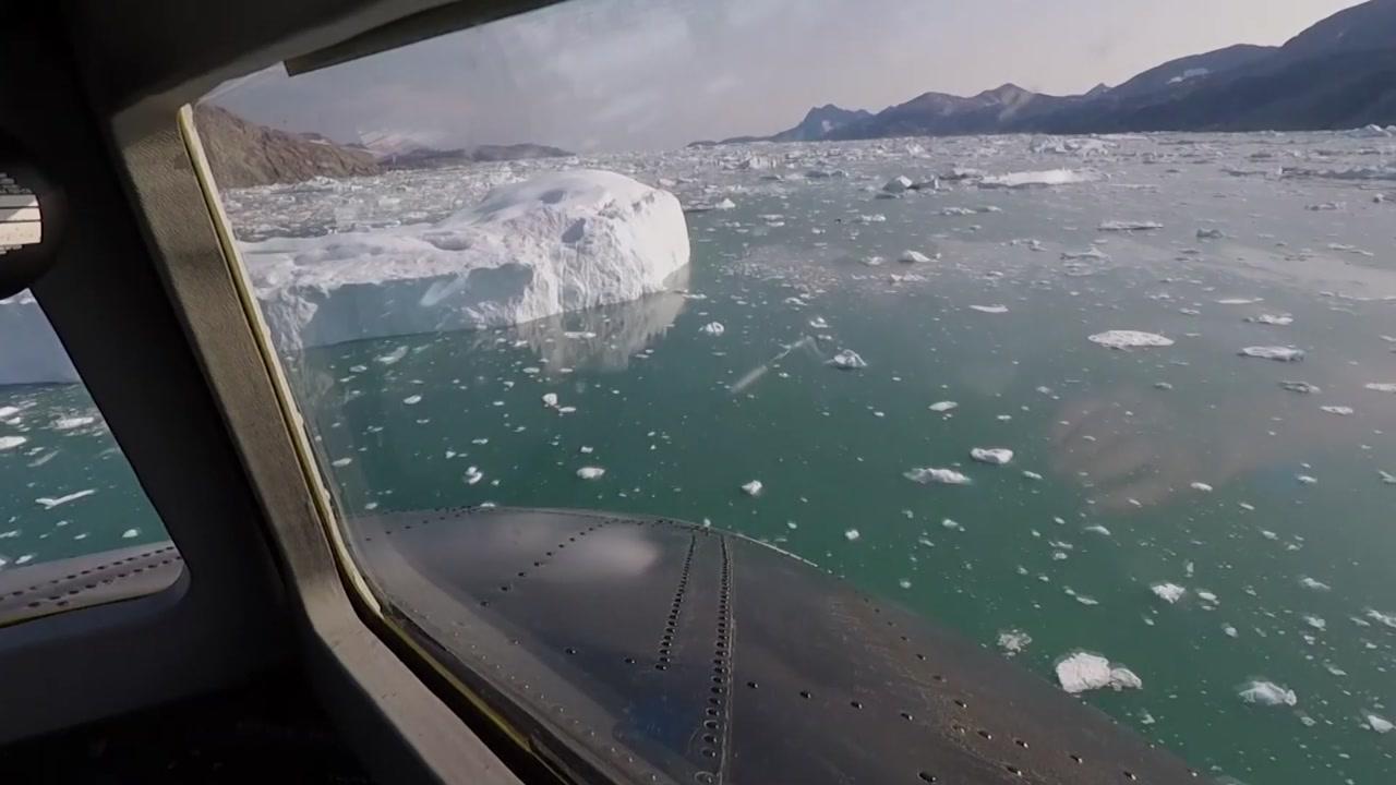 """빙하 녹는 속도가 빨라진 이유는?...""""따뜻한 물"""""""