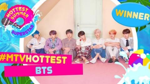 방탄소년단, 英 MTV 선정 '핫티스트 서머 슈퍼스타'…압도적 1위