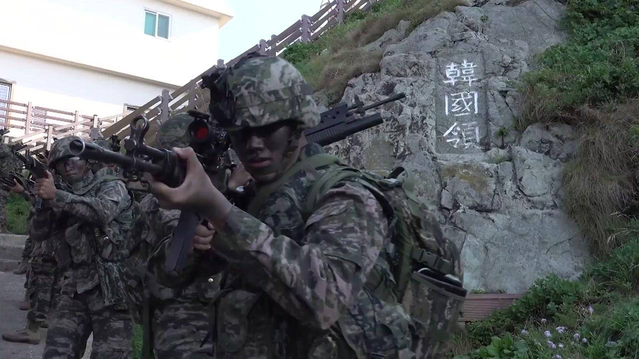 軍, 독도방어훈련 전격 돌입...이지스함 포함 육해공 정예부대 총출동