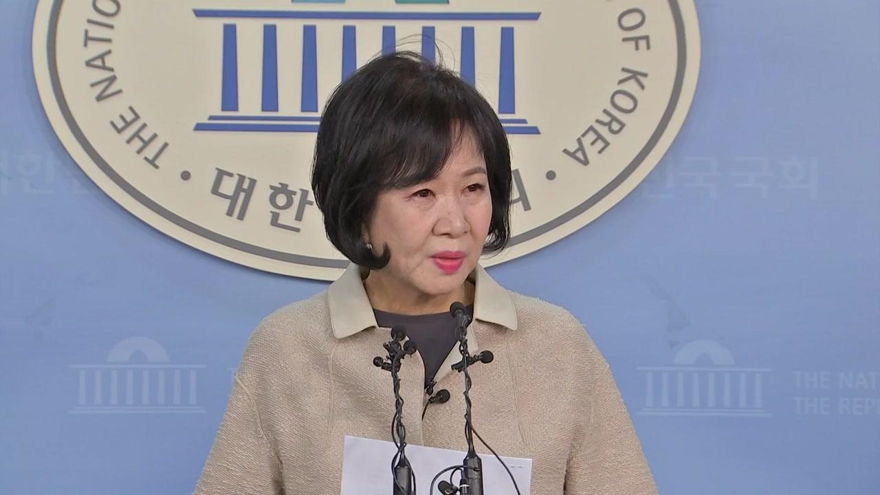"""손혜원 """"조국 상황 잘 이해...저를 보며 위로받길"""""""