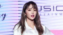 """홍진영 """"가족기획사 설립 위해 계약해지? 사실무근…법적대응""""(전문)"""