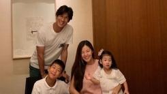 """'정조국♥' 김성은, 셋째 임신...""""우리 이제 다섯 식구돼요""""(공식)"""