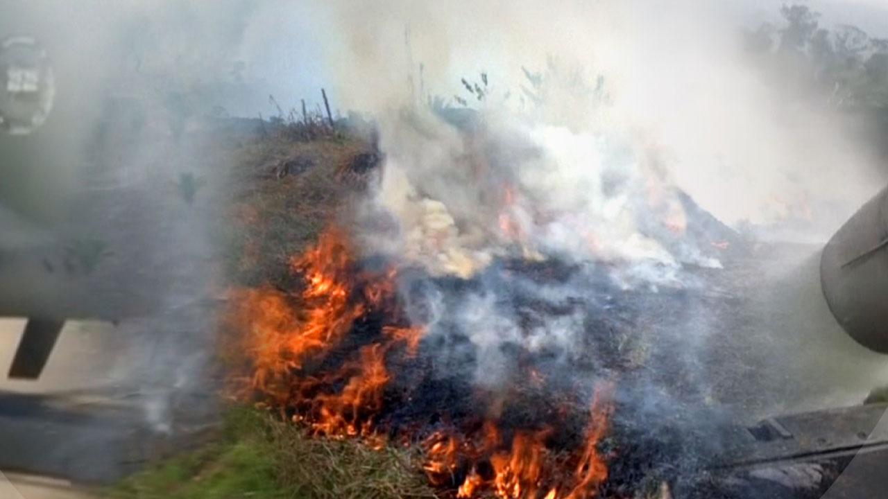 """[뉴스TMI] """"지구의 허파가 죽어가고 있다""""...아마존 화재 원인은?"""