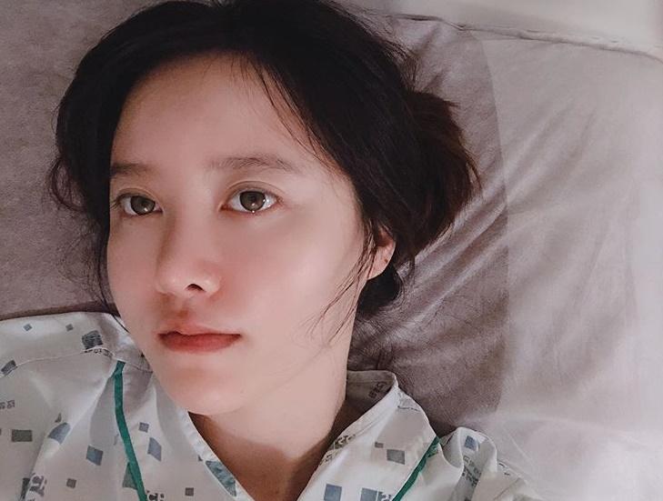 """구혜선, 근황 공개 """"용종 제거 후 입원…영화제 불참 죄송"""""""