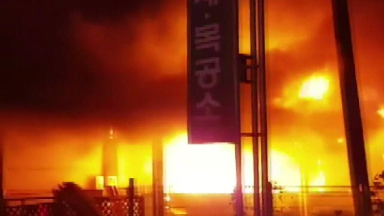 목공소·에너지 저장소 불...억대 피해 속출
