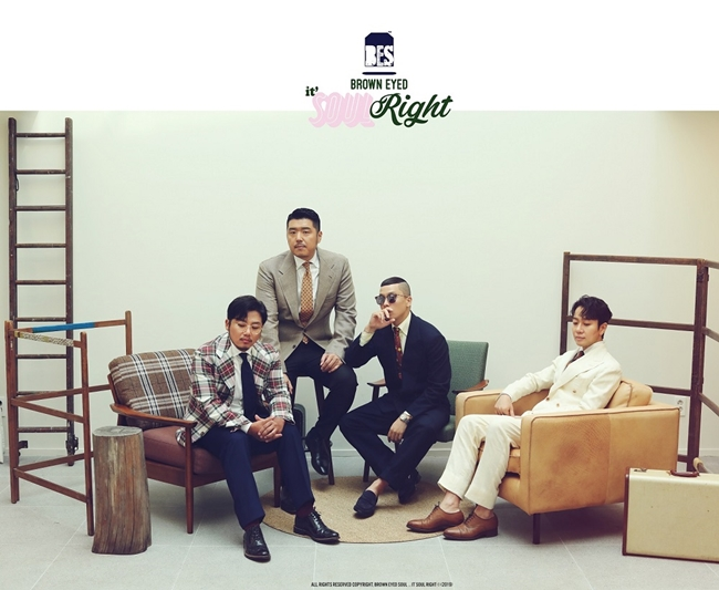 브라운아이드소울, 오늘(2일) 신곡 'Right' 발표…4년만