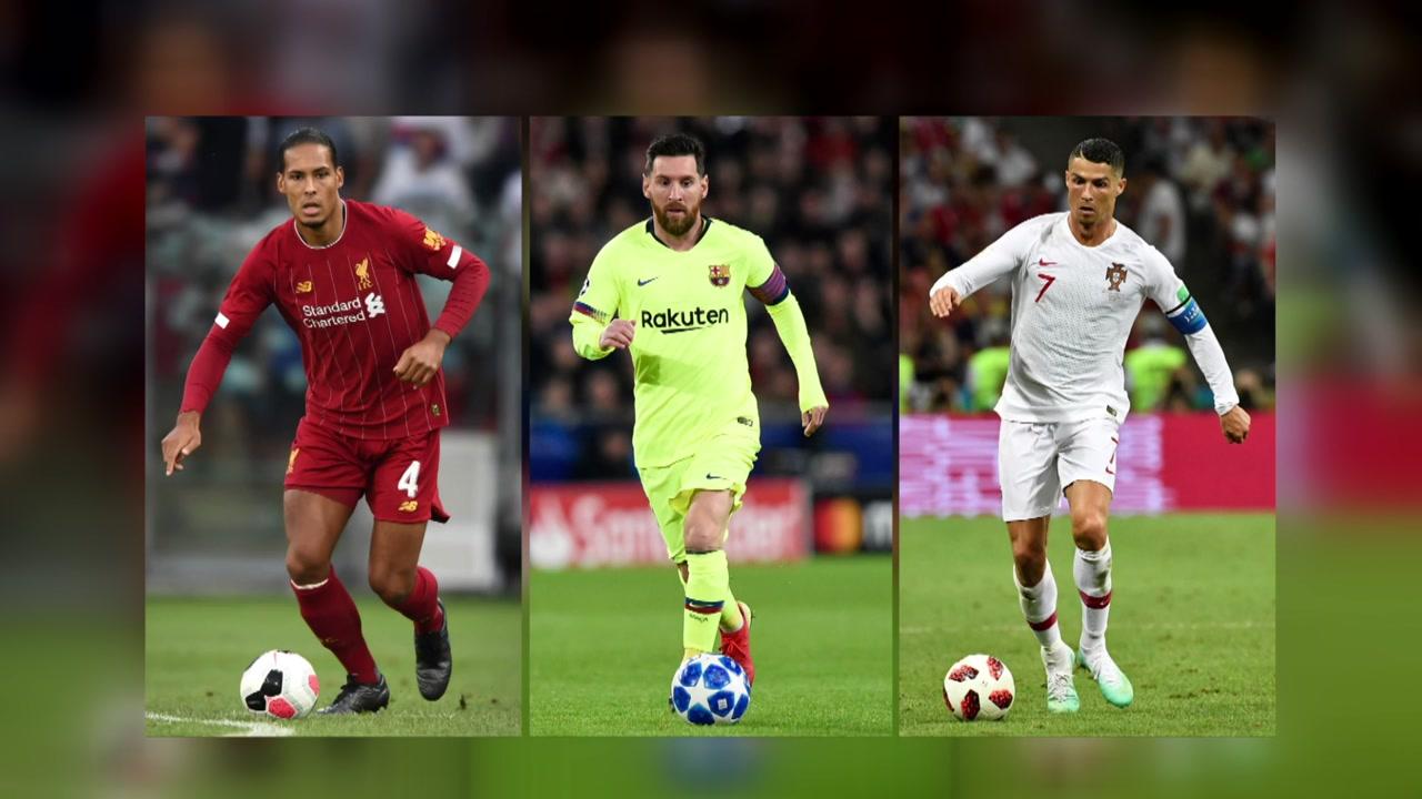 판데이크, 메시·호날두와 FIFA 올해의 선수 후보