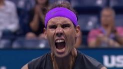 나달, 슈와르츠만 제압하고 US오픈 테니스 4강