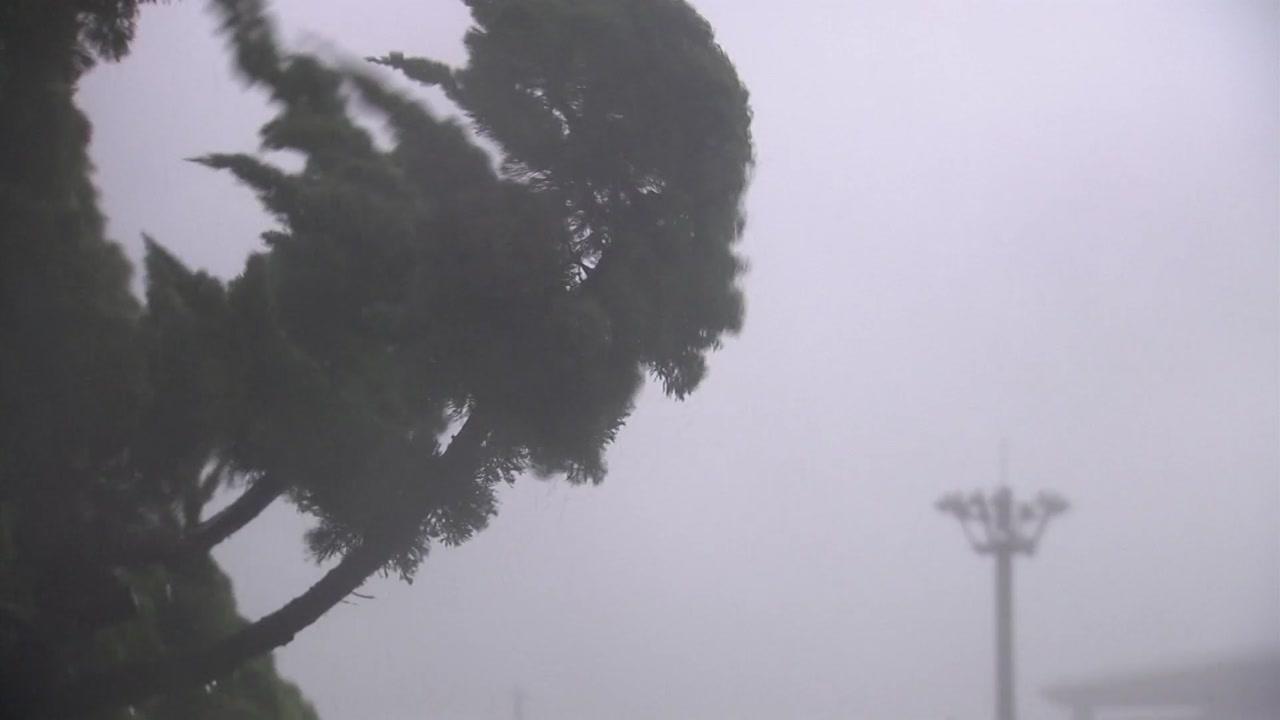 [날씨] 제주 해상 태풍특보...태풍 내일 한반도 강타
