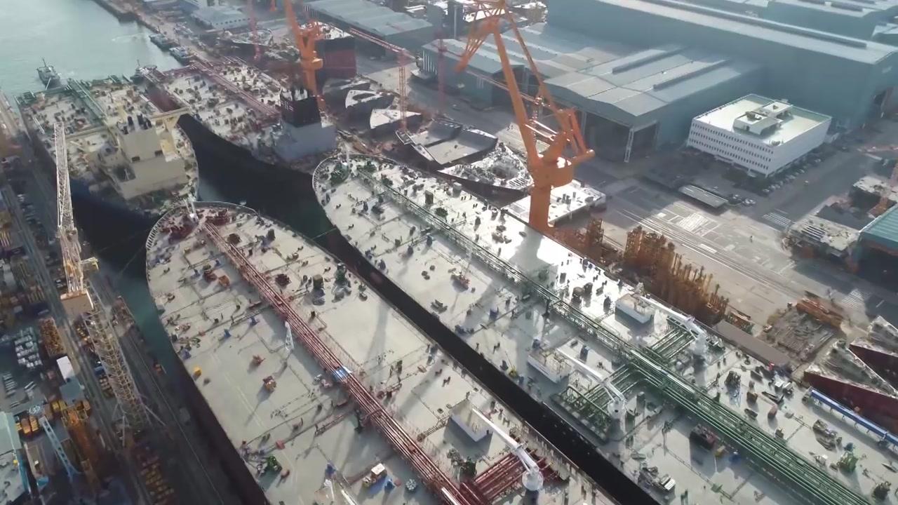 4개월 연속 한국 조선업계 수주량 전세계 1위