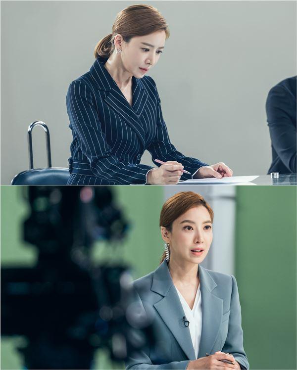 """'삼시세끼'→'날 녹여주오'...윤세아 """"보도국장 役, 이금희 조언 참고"""""""
