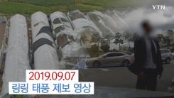 [제보영상] 시민 제보영상으로 보는 태풍 '링링'의 위력