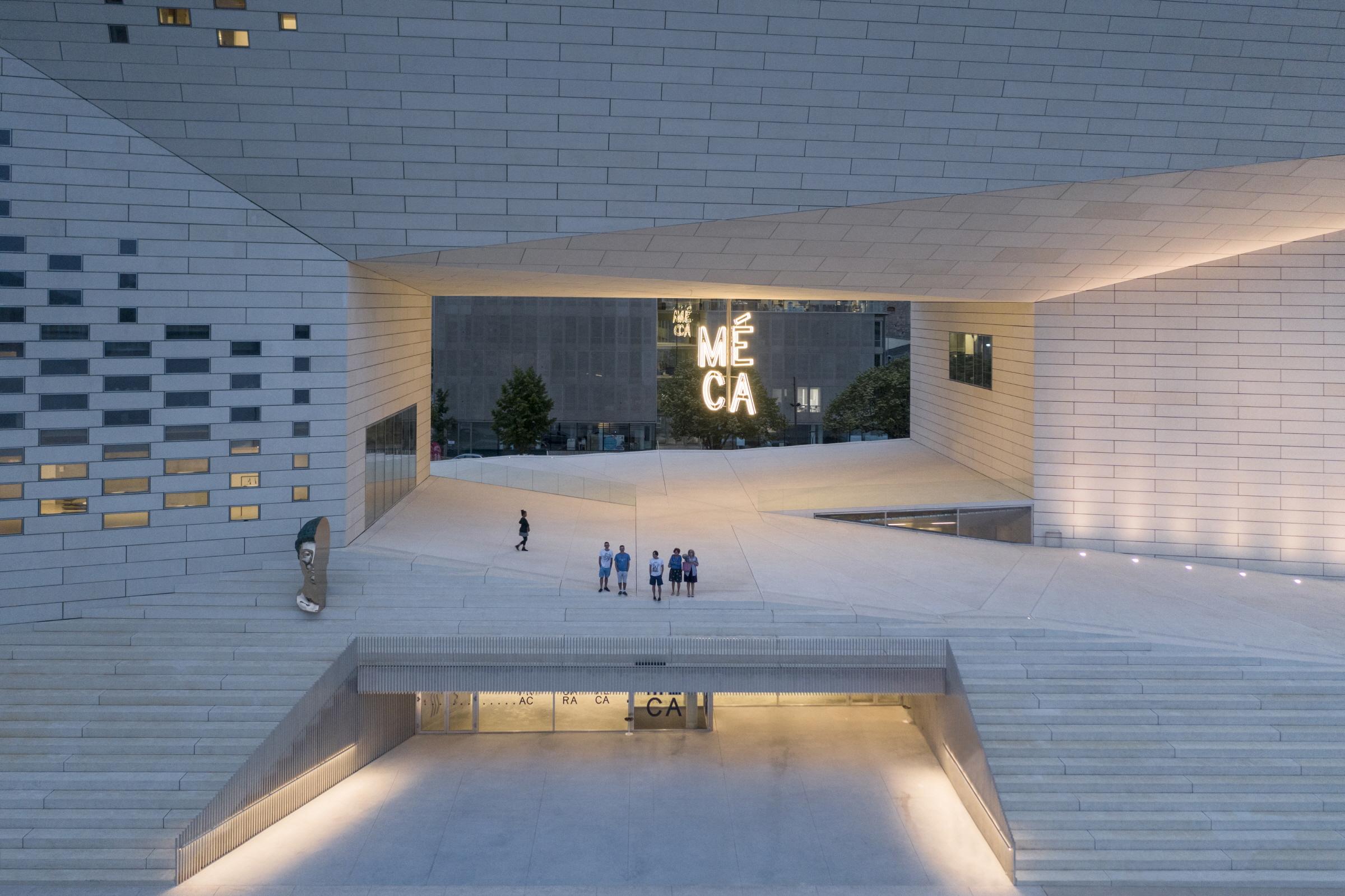 〔안정원의 건축 칼럼〕 어번룸으로 통합한 입체적인 도시 복합문화센터, 메카공간읽기 3