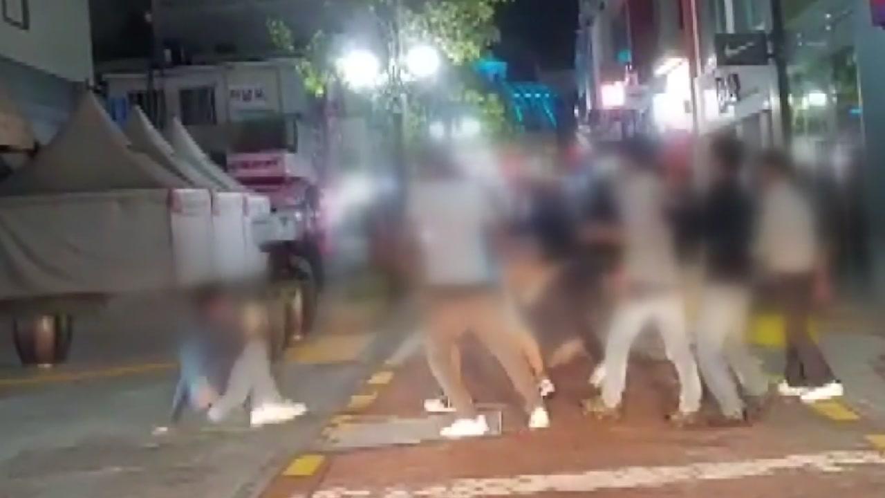 울산 도심에서 외국인 패싸움...주민 불안
