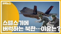 [자막뉴스] 스텔스기에 버럭하는 北...초라한 공군력 탓?