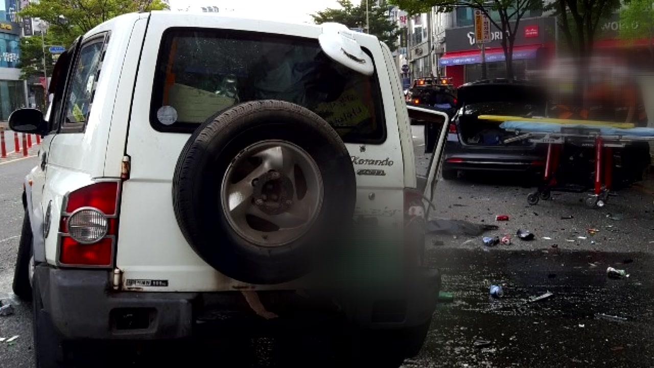 음주 차량 충돌 사고...1명 사망·3명 부상