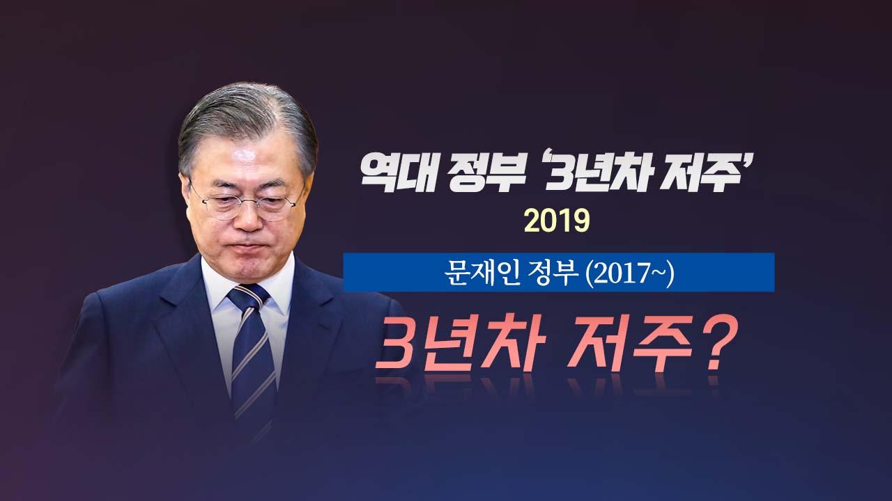 [더뉴스 더콕] 역대 정부 '3년차의 저주'...지금은?