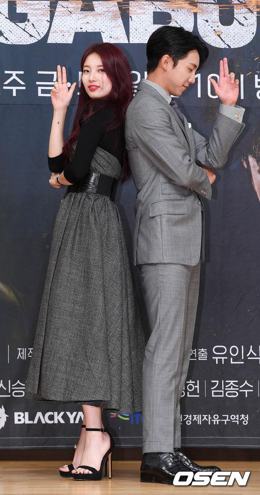 """이승기·수지 """"'배가본드'로 6년 만 재회...행복했다"""""""