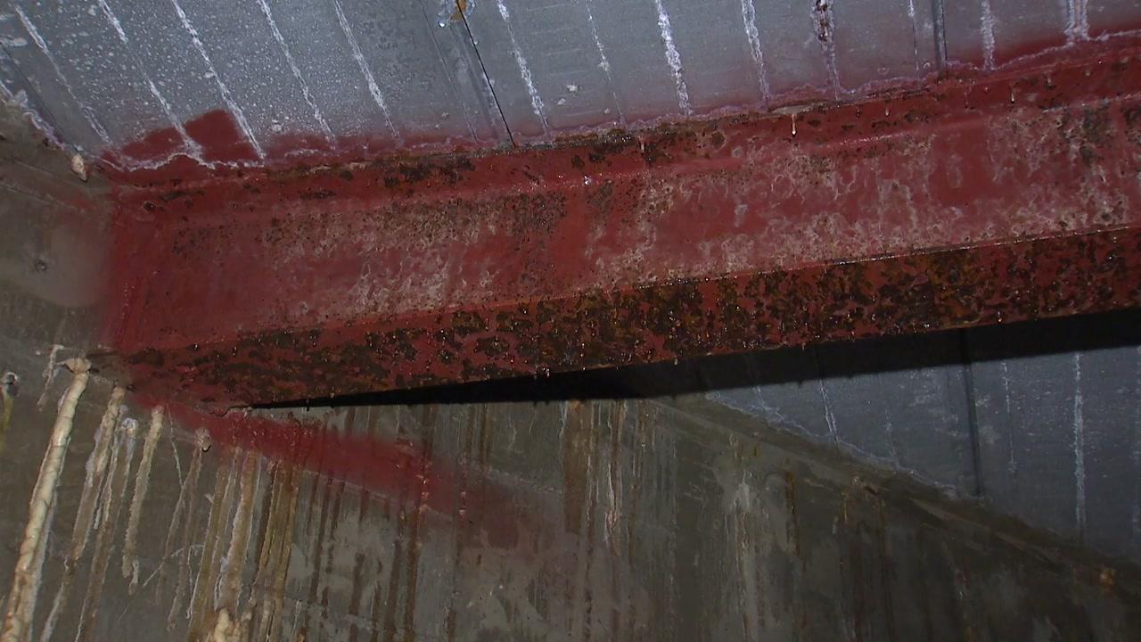 물 새고 철골 뒤틀리고...부산 연약지반 대형건물 안전위험