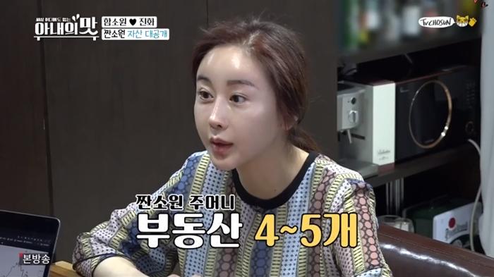"""'아내의 맛' 함소원 재산은 얼마? """"아파트 2채·빌라 2채·전원주택 1채"""""""