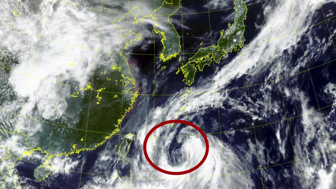 17호 태풍 '타파' 한반도 향해 북상...물 폭탄 떨어진다