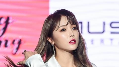 홍진영, 뮤직K 상대 전속계약 소송 취하…합의하나